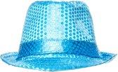 Lg-imports Gangsterhoed Unisex 20 Cm Blauw