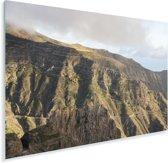 Berglandschap van het Nationaal park Garajonay in Spanje Plexiglas 180x120 cm - Foto print op Glas (Plexiglas wanddecoratie) XXL / Groot formaat!