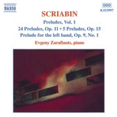 Scriabin: Preludes Vol.1