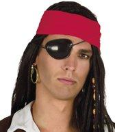 Piraten Ooglapje met Oorbel