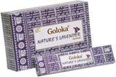 Goloka Nature's Lavender wierookstokjes 15 grams