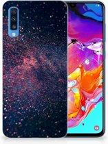 TPU Siliconen Hoesje Samsung Galaxy A70 Stars