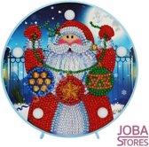 "Diamond Painting ""JobaStores®"" Lamp Kerst 07 Kerstman"