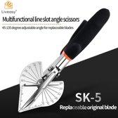 Liveasy® SK-5 Verstekschaar - Plintenschaar - Plintenknipper
