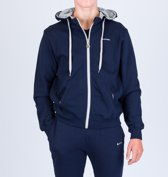 Men hooded full zip sweatshirt