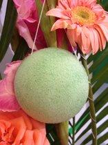 100% Biologische Konjac Sponge Aloe Vera met 4% Actief Ingrediënt