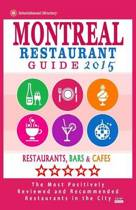 Montreal Restaurant Guide 2015