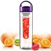 Fruitwater Fles Fruit Infuser - Paars