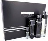Perry Ellis Reserve for Men Gift Set 100 ml Eau De Toilette Spray + 200 ml Body Spray + 90 ml Shower Gel + 7.5 ml Mini EDT Spray