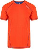 Regatta-Virda II-Outdoorshirt-Mannen-MAAT XXL-Oranje
