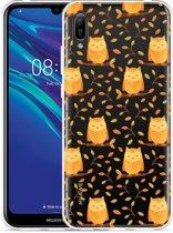 Huawei Y6 2019 Hoesje Cute Owls