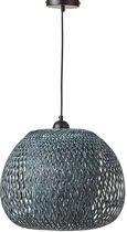 Mica Decorations boris hanglamp grijs maat: 33 x 43cm