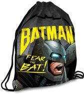 Batman - Gymbag 32 x 42 cm - Zwart