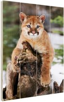 Rustende poema Hout 40x60 cm - Foto print op Hout (Wanddecoratie)