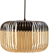 Forestier Bamboo Light Hanglamp Small Zwart