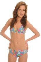 Sunselect zondoorlatende bikini - Love Blue - Maat 42