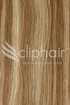 Remy Human Hair Highlights 20 bruin / blond #6/27