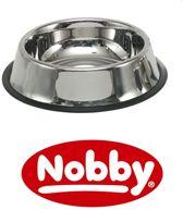 Nobby rvs eetbak anti slip 17 cm  - 0,70 LTR