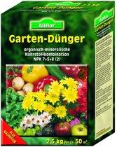 Allflor - Meststof voor de tuin | 2,5kg voor 50m² | Verrijkt en houdt de bodem vruchtbaar!