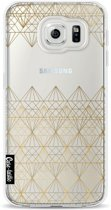 Casetastic Softcover Samsung Galaxy S6 - Golden Diamonds