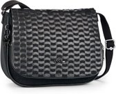 Kipling Earthbeat M - Schoudertas - Weaving Black
