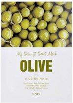 A'pieu - My Skin Olive Fit Sheet Mask