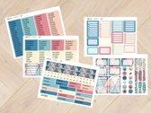 planner stickers Combinatie 1001 & 1002 voor Mascha Planner