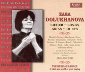 Lieder Songs Arias  Duets - Russian Legacy