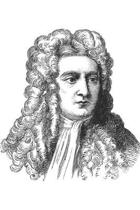 Sir Isaac Newton notebook - achieve your goals, perfect 120 lined pages #1
