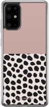 Samsung Galaxy S20 Plus siliconen hoesje - Pink dots