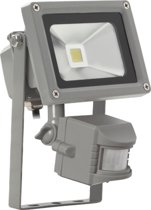 Sensor led bouwlamp 10 Watt warm wit licht