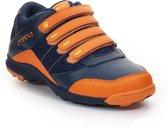 Brabo Hockeyschoen Juniorl Hockeyschoenen - Maat 30 - Unisex - blauw/oranje