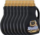 Woolite Zwart & Donker - Wasmiddel - 8 x 1,38 Liter (184 Wasbeurten) - Voordeelverpakking
