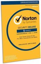 Norton Security Deluxe 2019 - 5 apparaten - 1 jaar (Retailverpakking) Taalkeuze bij installatie