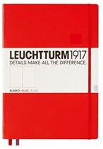 Leuchtturm1917 Notitieboek - Pocket - Blanco - Rood