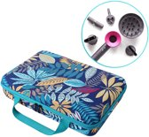 Carrying Case Voor Dyson Supersonic Hair Dryer Fohn - Beschermoes Case Cover Hoes - Travel Koffer - Bloemen