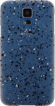 Spray Paint Glow Hoesje Samsung Galaxy S5 Black