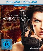 Resident Evil: The Final Chapter (3D & 2D Blu-ray) (import)