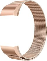 Adge® Milanees bandje - Fitbit Charge 2 - Rosé Gold