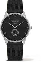Paul Hewitt Signature Line - Horloge - Staal - Zwart - 38mm