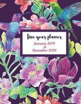 2019 - 2023 Cablebird Five Year Planner