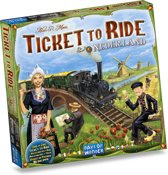 Ticket to Ride Nederland - Uitbreiding Bordspel