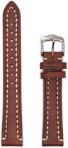Hirsh Horlogeband -  Liberty Artisan Bruin - Leer - 24mm