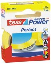 Tesa Extra Power Perfect Plakband - Geel - 19 mm x 2,75 m
