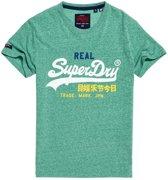Superdry T-Shirt Vintage Logo Groen (M10157IU - T4Q)