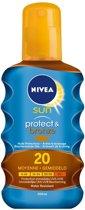 NIVEA SUN PROTECT & BRONZE OIL F20