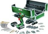 Bosch PSR 14,4 LI-2 Accuboormachine - 14,4 V - met 241-delige toolbox