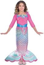 Barbie Zeemeermin Rainbow Kostuum - Carnaval