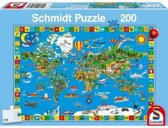 Schmidt puzzel Your Amazing World 200 stukjes