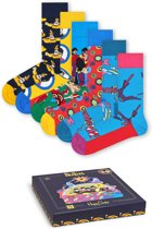 Happy Socks The Beatles Collector Giftbox - 6 pack - Maat 36-40